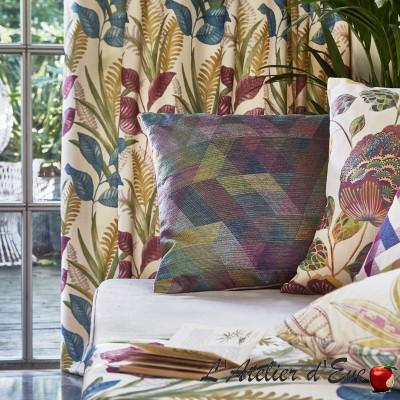 """Kuba"" Embroidered upholstery fabric Bali Prestigious Textiles"