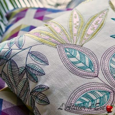 """""""Timor"""" Tissu ameublement fleui Bali Prestigious Textiles"""