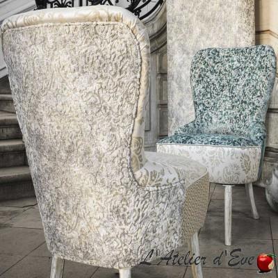 """""""Don Rodrigo"""" Casal fancy velvet fabric"""