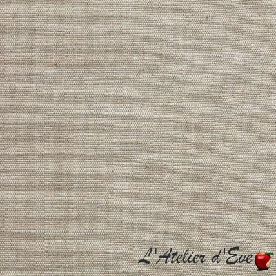 """Tatami"" Coupon 160x280cm toile grande largeur effet chiné Thevenon"