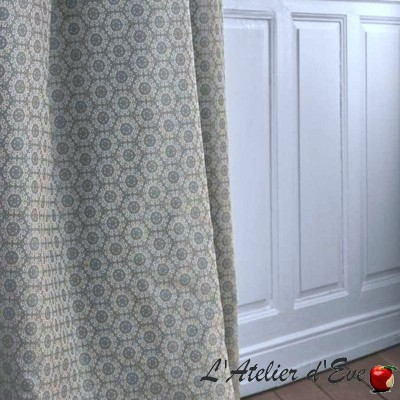 """""""Abbondio"""" Vintage Casal embroidered upholstery fabric"""