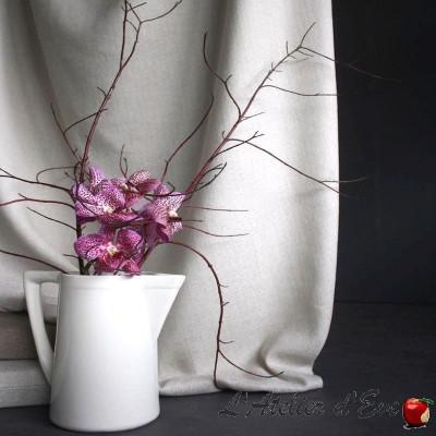 "Tissu fils recyclés ""Galadriel"" Collection Naturellement de Casal"