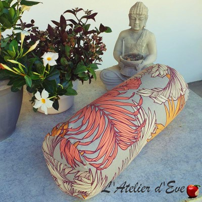 """""""Bolster"""" Coco ficelle Coussin de yoga Made in France L'Atelier d'Eve"""