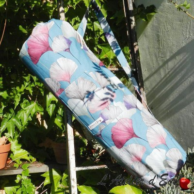 """Sac tapis de sol """"Céline zinc"""" L'Atelier d'Eve"""