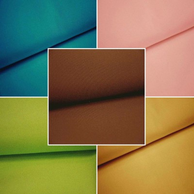Antibes (55 coloris) Toile exterieure unie traitee teflon pour sieges L.152cm Casal
