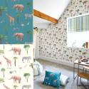 "Papier peint intissé ""Safari Park"" Prestigious Textiles"