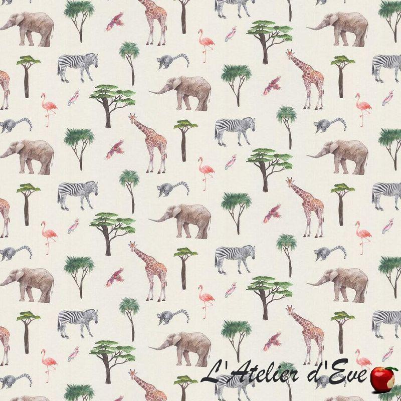 """Papier peint pour enfant """"Safari Park"""" jungle - Big Adventure Prestigious"""