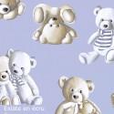 "Percale coton ""Teddy"" grande largeur Thevenon"