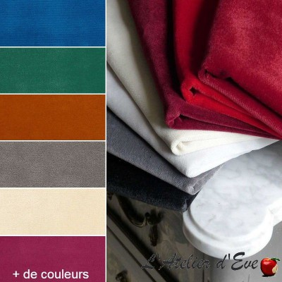 """Lemming"" Tissu velours non feu M1 Casal"
