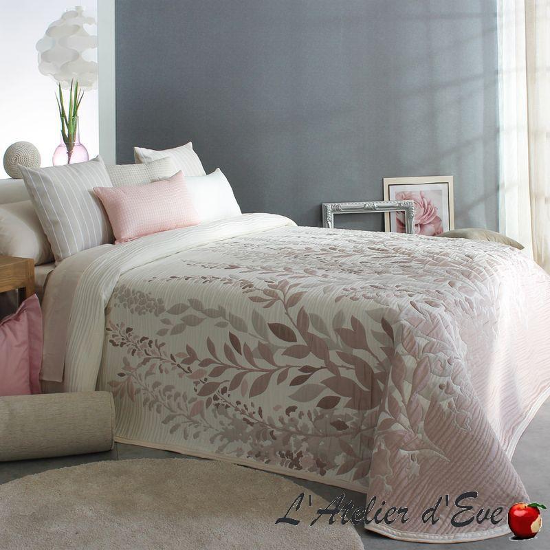 """""""Lisboa"""" Couvre-lit fleuri jacquard lavable Reig Marti C.02"""