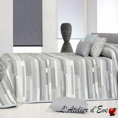 """Mate"" Couvre-lit tons naturels ado polyester lavable Reig Marti C.01"