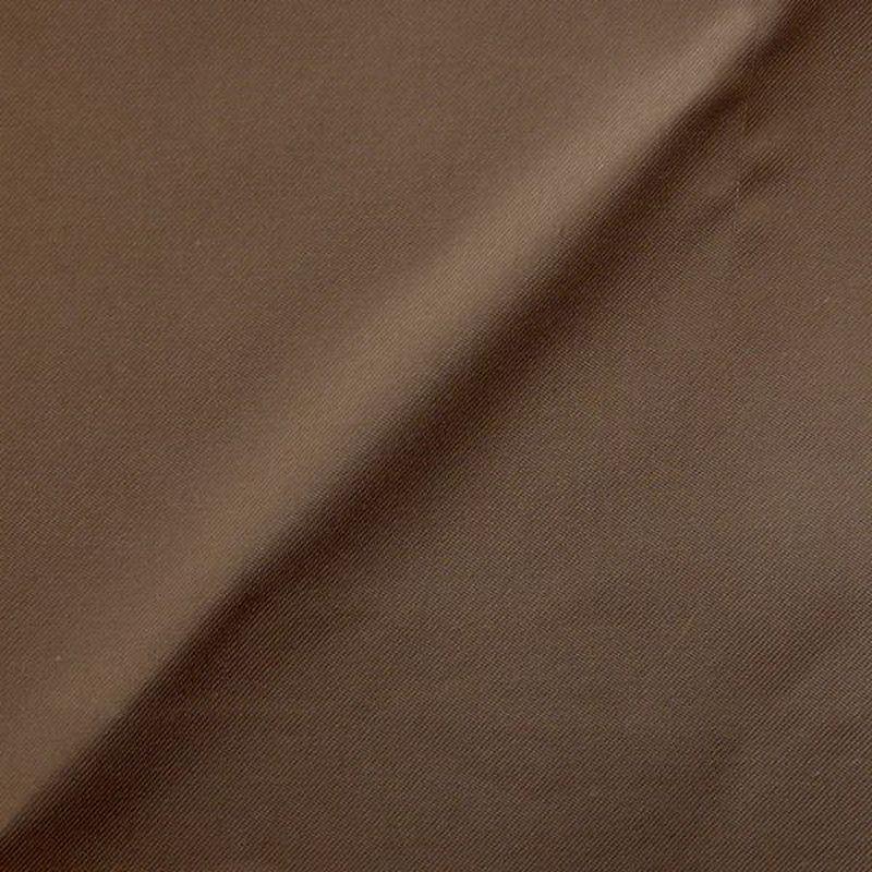Baccarat taupe foncé Toile ameublement unie grande largeur de Thevenon