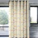 """Happy birds"" lin rideau Made in France Thevenon"