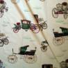 Les carrosses : Rideau à oeillet enfant ou fan de voitures anciennes