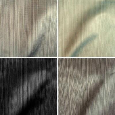 Tonight (4 coloris) Tissu ameublement occultant rayé pour sieges Thevenon