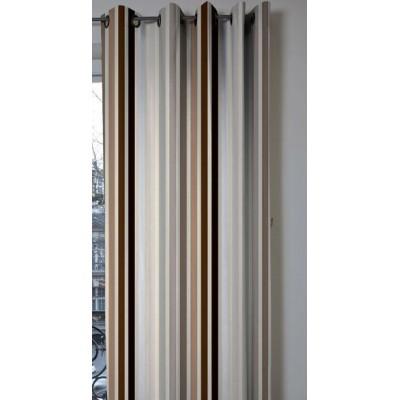 achat et vente de rideau rayures tissus pour rideau. Black Bedroom Furniture Sets. Home Design Ideas