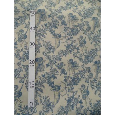 Ange Gabriel 5 coloris Toile de jouy Tissu ameublement grande largeur A699-3736 le metre