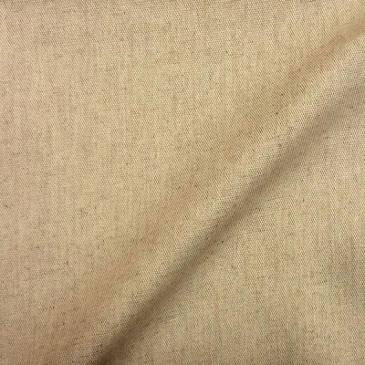 """Linens"" canvas furniture woven unbleached cotton/linen A506-03"
