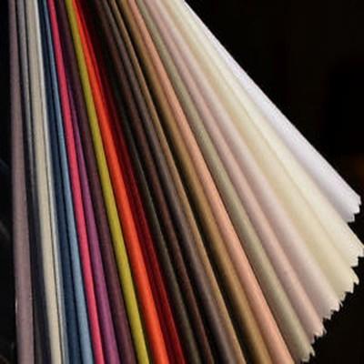 Baccarat (29 coloris) Toile ameublement unie grande largeur Thevenon le metre