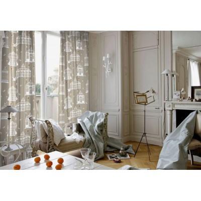 Bagatelle (3 colours) curtain has grommets loan has ask cotton fancy curtain
