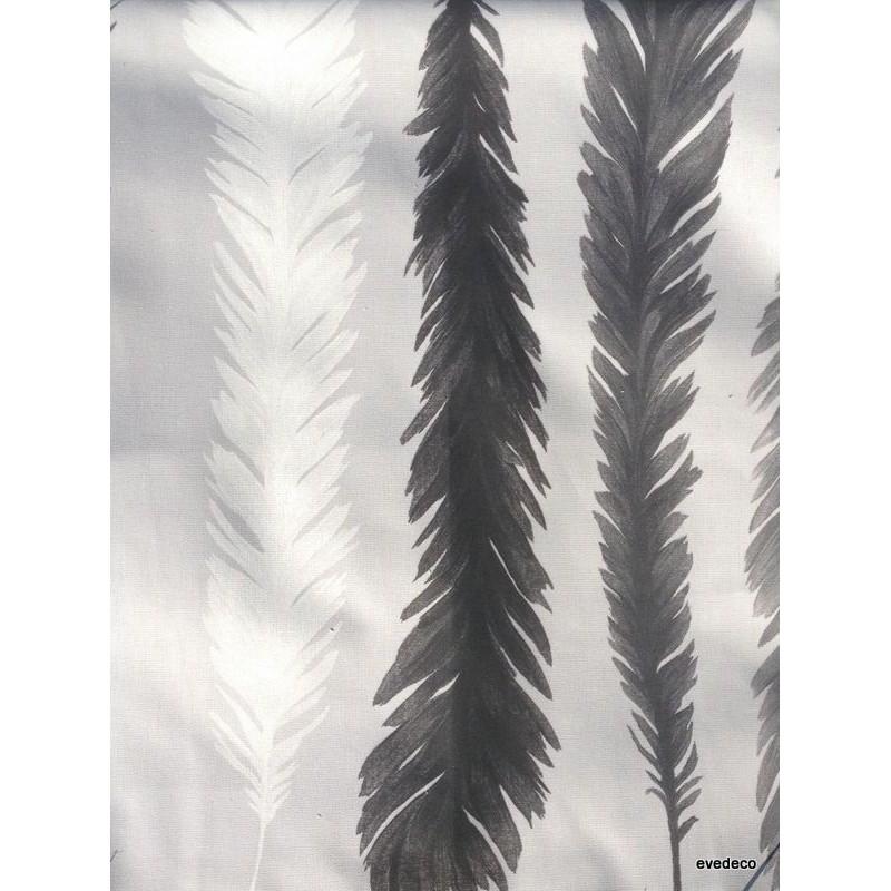 nouveau-monde-rideau-a-oeillet-pret-a-poser-coton-noir-gris-fond-brouillard-clair-foncé-1522604-le-rideau