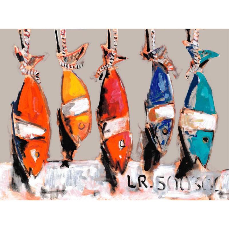 Les Thons Rideau a oeillets pret a poser coton fond lin Clair Fonce 1431622 le rideau