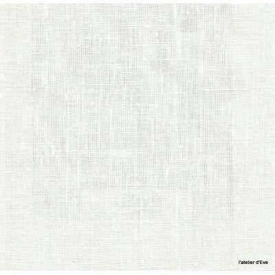 Linum Tissu ameublement toile de lin ecru Thevenon