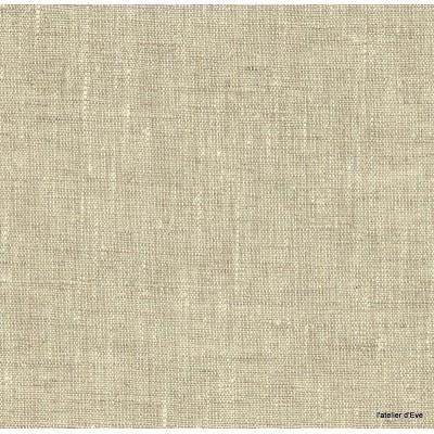 Linum Tissu ameublement toile de lin naturel Thevenon 1509881 le metre