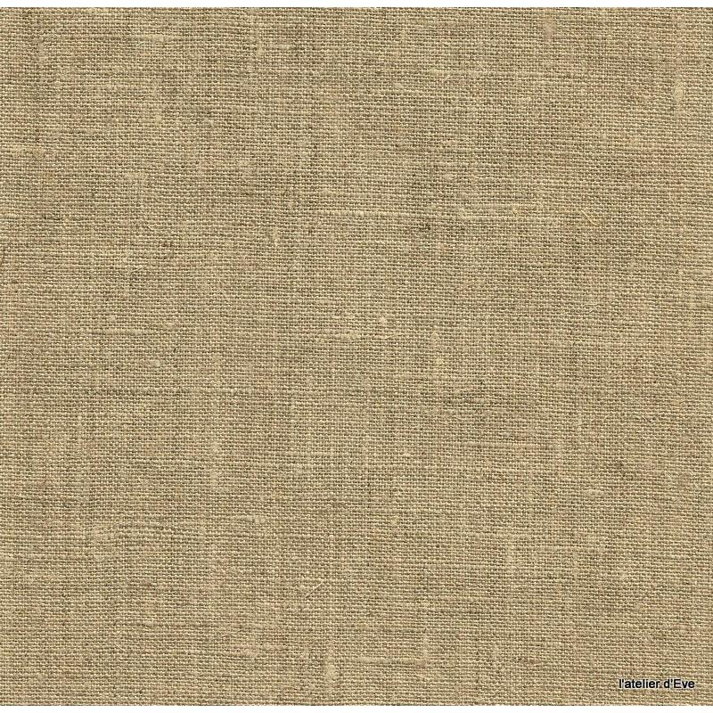Linum 3 coloris Tissu ameublement toile de lin ficelle Thevenon 1509882 le metre