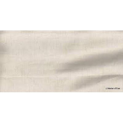 Quatre saisons Toile coton/lin unie naturelle Tissu ameublement H.280cm Alex tissus A699-3697 le metre