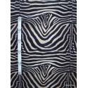 Zebre Tissu pour nappe microfibre imitation peau de bete L.148cm Alex tissus A103-23