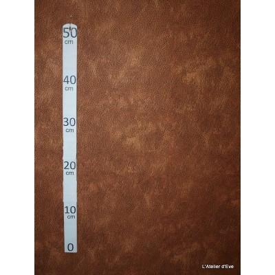Buffle Tissu pour nappe microfibre imitation peau de bete L.148cm Alex tissus A103-30