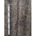 Leopard creme Tissu pour nappe microfibre imitation peau de bete L.148cm Alex tissus A103-34