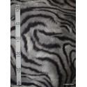 Tigre de Siberie Tissu pour nappe microfibre imitation peau de bete L.148cm Alex tissus A103-21