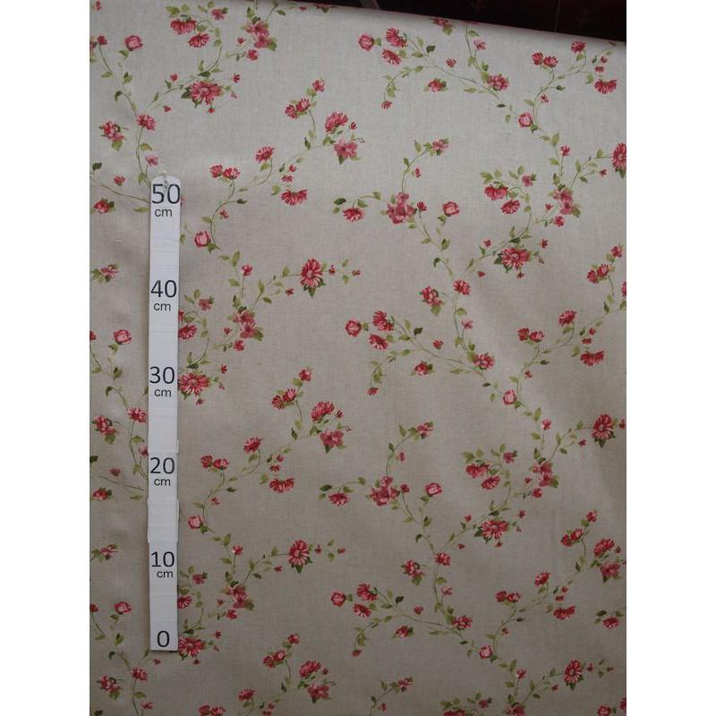 birmingham-tissu-ameublement-petite-fleurs-rouge-l280cm-alex-tissus-a60203-le-metre