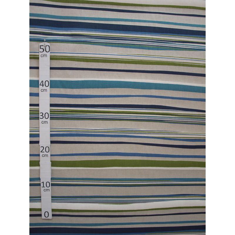 birmingham-2-coloris-tissu-ameublement-polycoton-rayures-bleu-vert-par-alex-tissu-a60302-le-metre