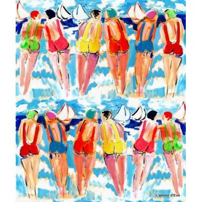 """The Sisters B"" Curtain Cotton Thevenon"