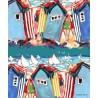 """Rideau bord de mer """"St Martin Plage"""" de Thevenon"""