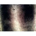 Plaid fausse fourrure vison gris 140x180cm Olivier Thevenon 1336-03