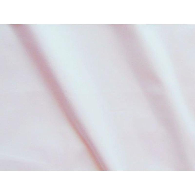 Drap housse percale coton blanche 140x190cm CF1248.01 Thevenon