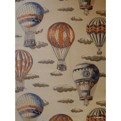 En l air jacquard Rideau a oeillet pret a poser jacquard fond beige 1641722 le rideau