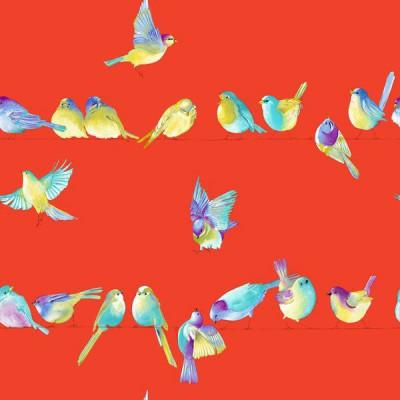 happy-birds-rideau-a-oeillets-pret-a-poser-coton-oiseaux-fond-saumon-1684604-le-rideau