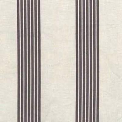 Rio Tissu enduit rayures anthracites L.170cm Thevenon 1617614P 0215 le metre