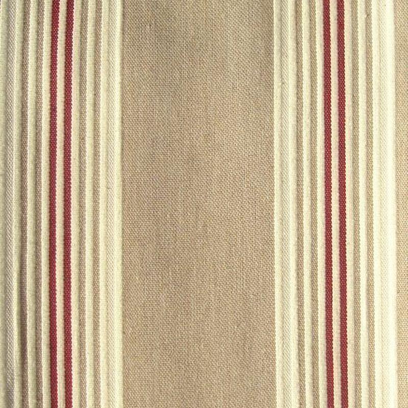 Calanque (4 coloris) Tissu ameublement jacquard grande largeur rayures Thevenon