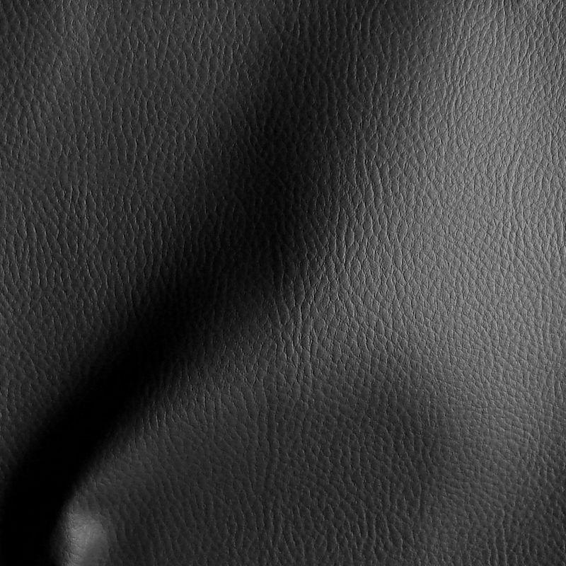 Dallas anthracite tissu ameublement skaï uni souple aspect cuir thevenon