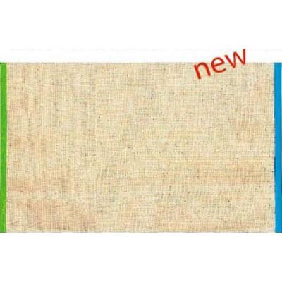 Toile transat au metre 2 coloris L.43cm haut de gamme finition biais vert/turquoise TR52 le metre