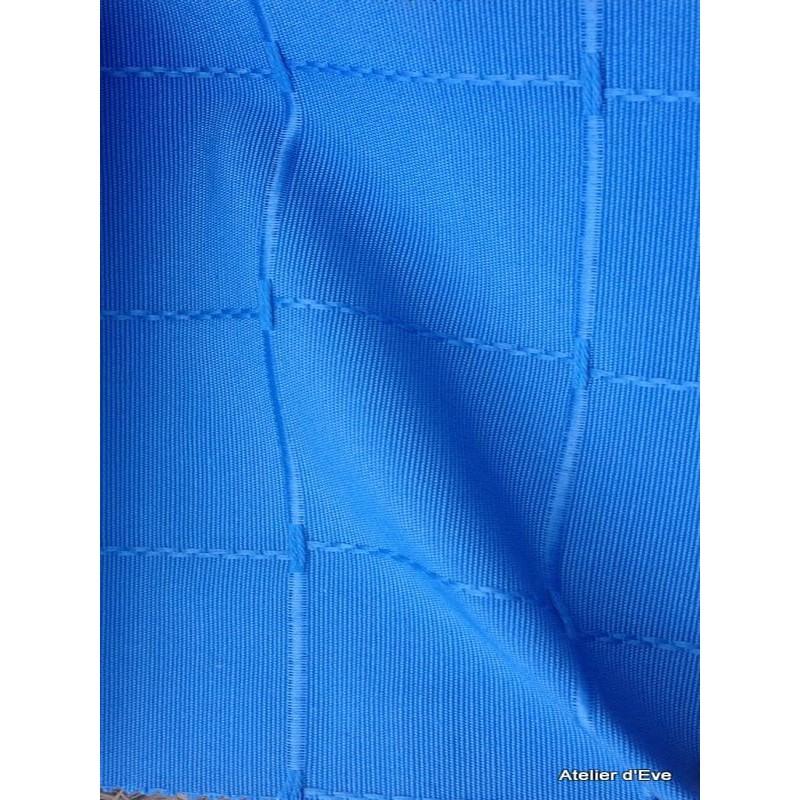 Isis bleu nappe de table sur mesure 160x260cm 763744 - Nappe de table rectangulaire sur mesure ...