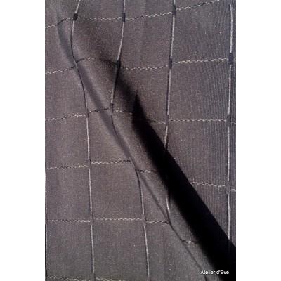 Isis noir Nappe de table sur mesure 160x160cm 763720