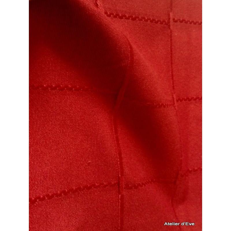 Isis rouge nappe de table sur mesure 170x270cm 763714 - Nappe de table rectangulaire sur mesure ...