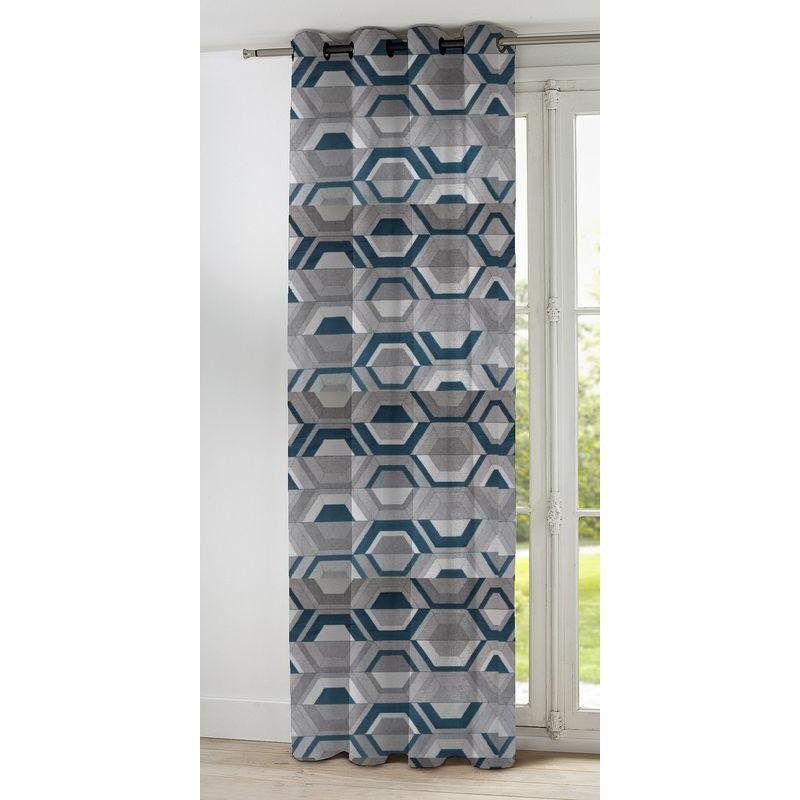 double rideaux pret a poser noel 2017. Black Bedroom Furniture Sets. Home Design Ideas